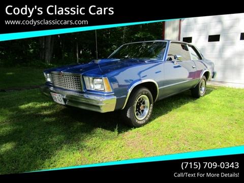 1978 Chevrolet Malibu for sale in Stanley, WI