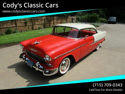 1955 Chevrolet Bel Air for sale in Stanley, WI