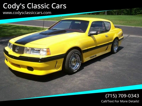 1988 Mercury Cougar for sale in Stanley, WI
