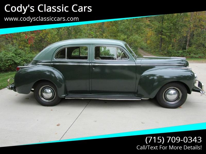 1941 Dodge Luxury Liner 1