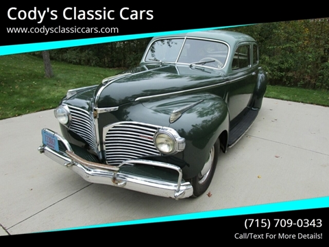 1941 Dodge Luxury Liner for sale in Stanley, WI