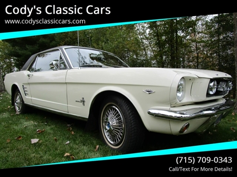 1966 Ford Mustang for sale in Stanley, WI
