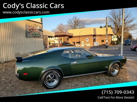1972 Ford Mustang for sale in Stanley, WI