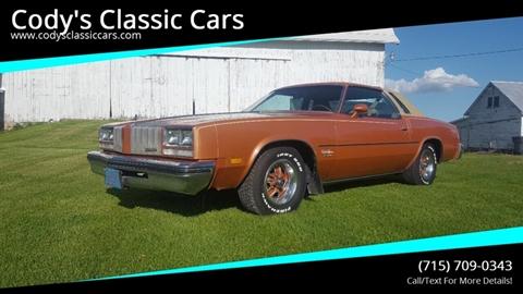 1977 Oldsmobile Cutlass Supreme for sale in Stanley, WI