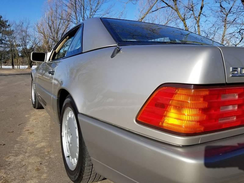 1992 Mercedes-Benz 500-Class 21