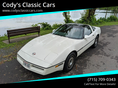 1985 Chevrolet Corvette for sale at Cody's Classic Cars in Stanley WI