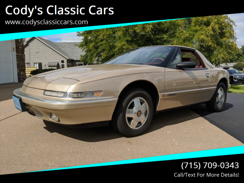 1990 Buick Reatta for sale at Cody's Classic Cars in Stanley WI