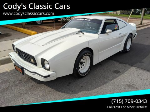1976 Ford Mustang II for sale at Cody's Classic Cars in Stanley WI