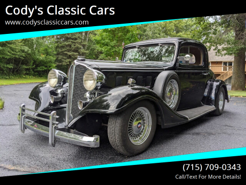 1933 Buick Series 50 for sale at Cody's Classic Cars in Stanley WI