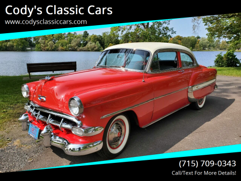 1954 Chevrolet Bel Air for sale at Cody's Classic Cars in Stanley WI