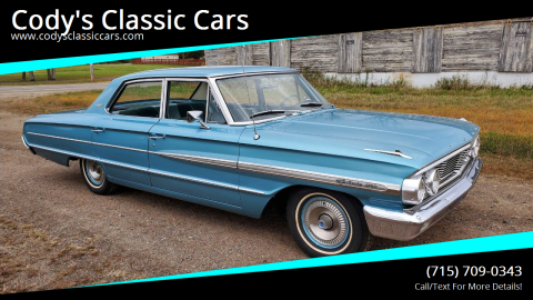 1964 Ford Galaxie 500 for sale at Cody's Classic Cars in Stanley WI