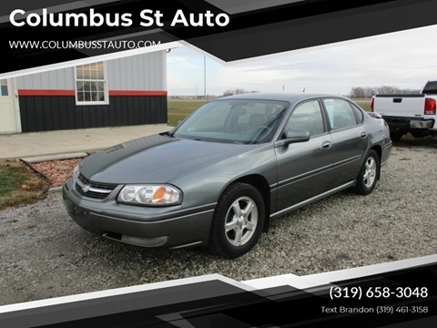 2005 Chevrolet Impala for sale in Crawfordsville, IA