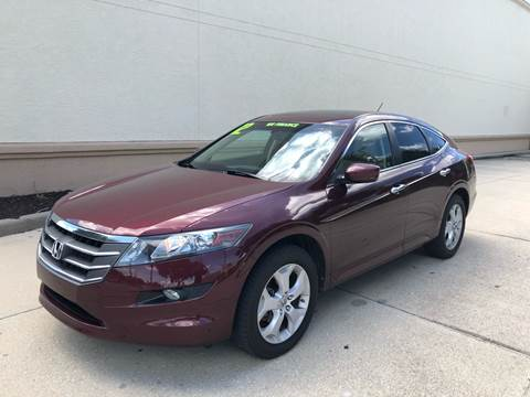 2012 Honda Crosstour for sale at GO TIME AUTO   Sales-Service in Sarasota FL