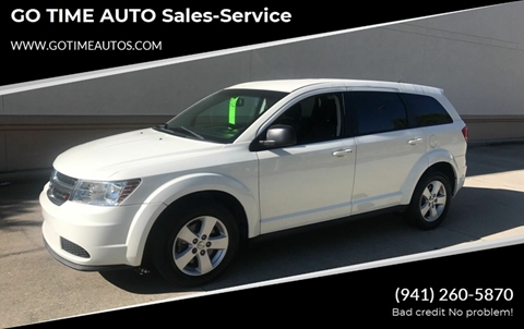2013 Dodge Journey for sale at GO TIME AUTO   Sales-Service in Sarasota FL