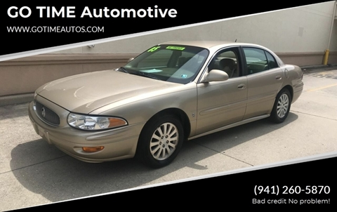 2005 Buick LeSabre for sale at GO TIME AUTO   Sales-Service in Sarasota FL
