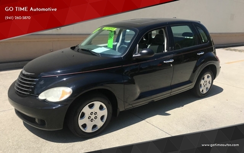 2007 Chrysler PT Cruiser for sale at GO TIME AUTO   Sales-Service in Sarasota FL