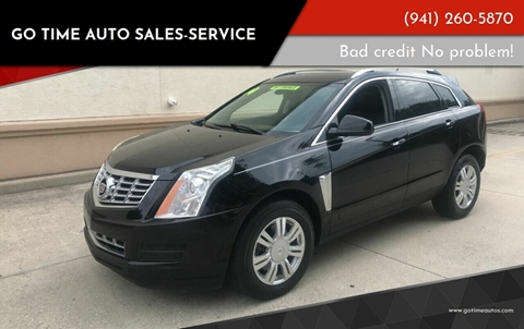 2014 Cadillac SRX for sale at GO TIME AUTO   Sales-Service in Sarasota FL