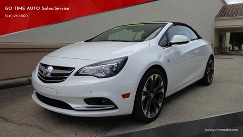2019 Buick Cascada for sale at GO TIME AUTO   Sales-Service in Sarasota FL