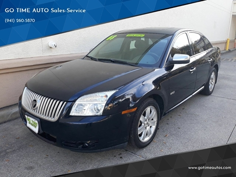 2008 Mercury Sable for sale at GO TIME AUTO   Sales-Service in Sarasota FL