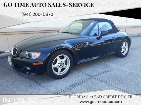 1996 BMW Z3 for sale at GO TIME AUTO   Sales-Service in Sarasota FL