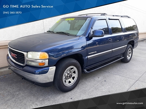 2002 GMC Yukon XL for sale at GO TIME AUTO   Sales-Service in Sarasota FL