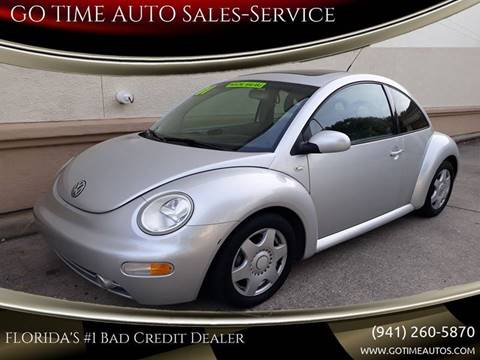 2001 Volkswagen New Beetle for sale at GO TIME AUTO   Sales-Service in Sarasota FL