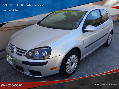 2007 Volkswagen Rabbit for sale at GO TIME AUTO   Sales-Service in Sarasota FL