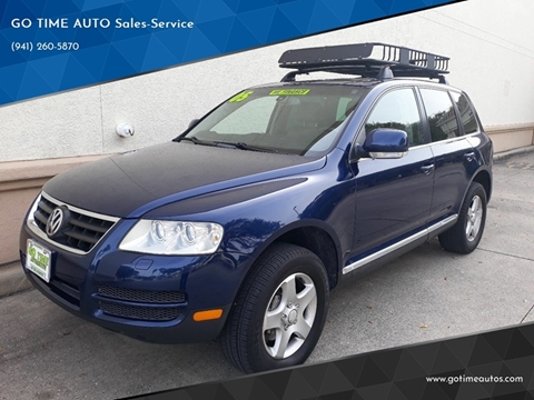 2005 Volkswagen Touareg for sale at GO TIME AUTO   Sales-Service in Sarasota FL