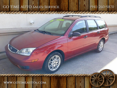 2005 Ford Focus for sale at GO TIME AUTO   Sales-Service in Sarasota FL