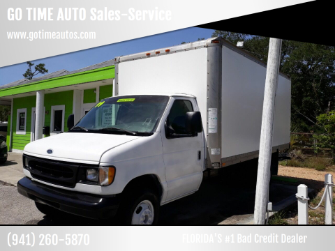 1999 Ford E-Series Chassis for sale at GO TIME AUTO   Sales-Service in Sarasota FL