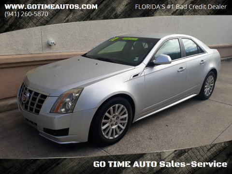 2012 Cadillac CTS for sale at GO TIME AUTO   Sales-Service in Sarasota FL