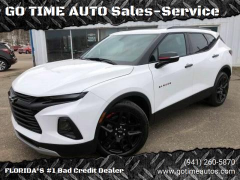 2020 Chevrolet Blazer for sale at GO TIME AUTO   Sales-Service in Sarasota FL