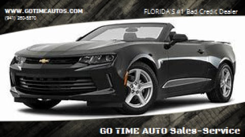 2019 Chevrolet Camaro for sale at GO TIME AUTO   Sales-Service in Sarasota FL
