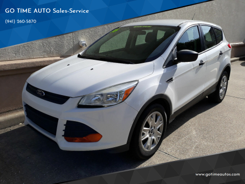 2016 Ford Escape for sale at GO TIME AUTO   Sales-Service in Sarasota FL
