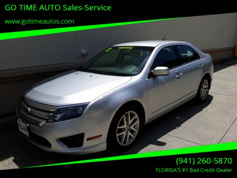 2012 Ford Fusion for sale at GO TIME AUTO   Sales-Service in Sarasota FL