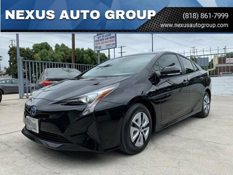 2017 Toyota Prius Two for sale at NEXUS AUTO GROUP in Burbank CA
