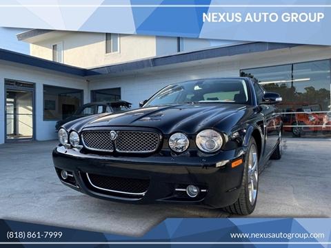 2008 Jaguar XJ-Series XJ8 for sale at NEXUS AUTO GROUP in Burbank CA