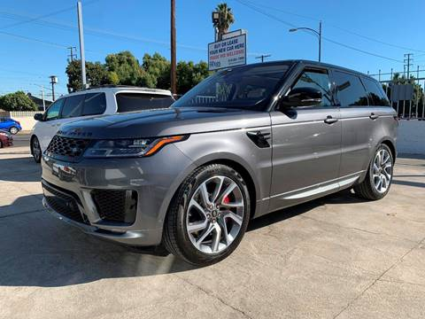 2018 Land Rover Range Rover Sport HSE Dynamic for sale at NEXUS AUTO GROUP in Burbank CA