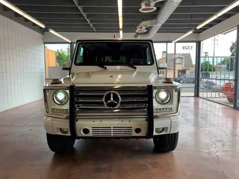 2014 Mercedes-Benz G-Class G 550 for sale at NEXUS AUTO GROUP in Burbank CA