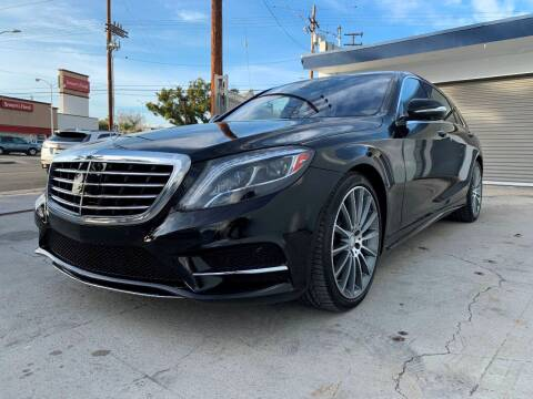 2016 Mercedes-Benz S-Class S 550 for sale at NEXUS AUTO GROUP in Burbank CA