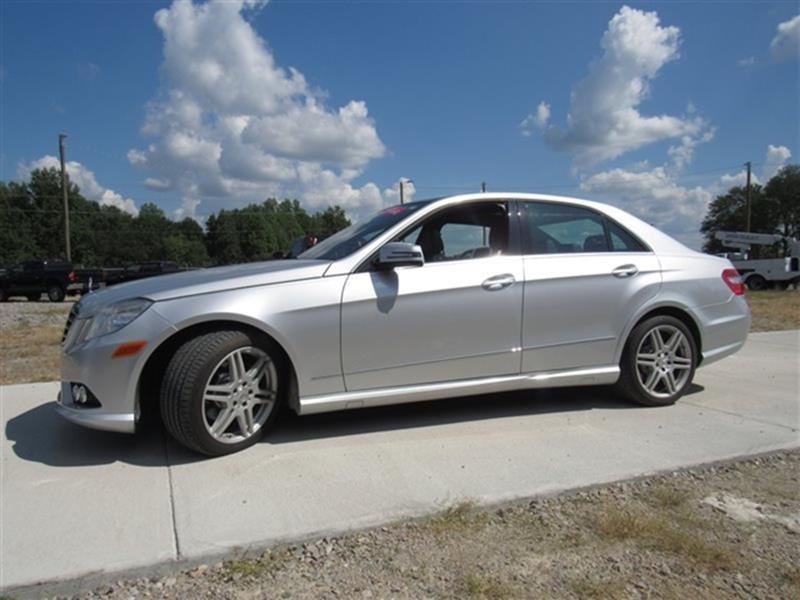 2010 Mercedes Benz E Class For Sale At Taz Autogroup In Sanford NC