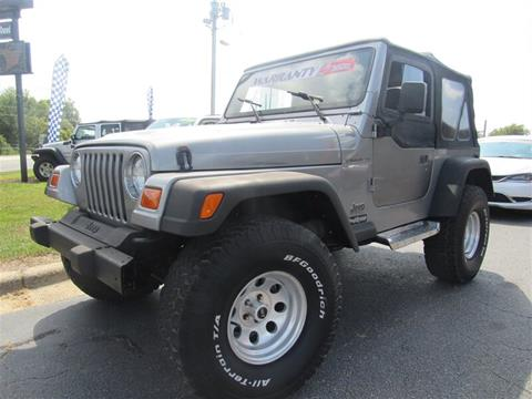 2001 Jeep Wrangler for sale in Sanford, NC