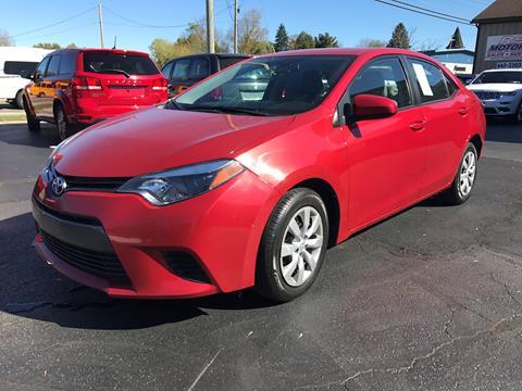 2016 Toyota Corolla for sale in Falconer, NY