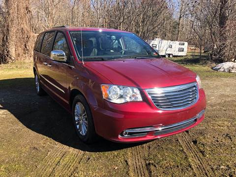 2016 Chrysler Town and Country for sale at RS Motors in Falconer NY