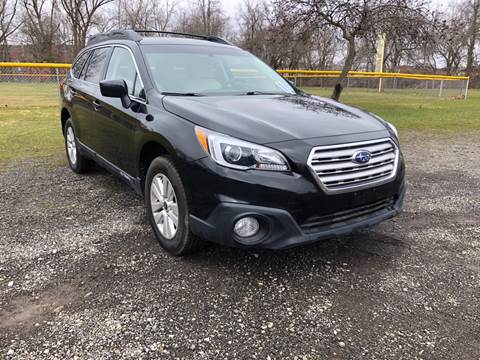 2017 Subaru Outback for sale at RS Motors in Falconer NY
