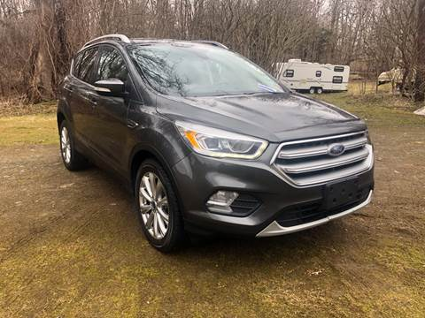 2017 Ford Escape for sale at RS Motors in Falconer NY