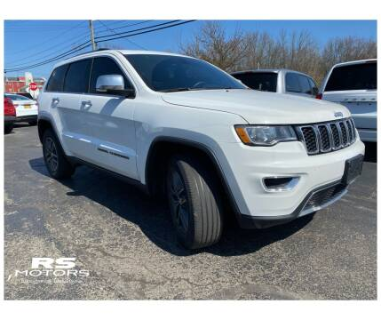 2017 Jeep Grand Cherokee Limited for sale at RS Motors in Falconer NY