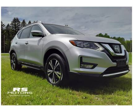 2017 Nissan Rogue SL for sale at RS Motors in Falconer NY