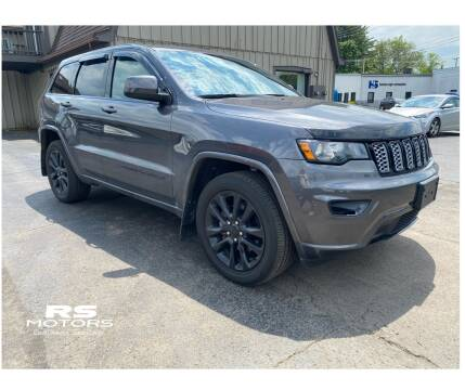 2017 Jeep Grand Cherokee for sale at RS Motors in Falconer NY