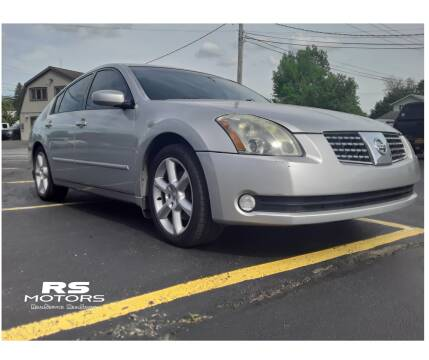 2006 Nissan Maxima 3.5 SE for sale at RS Motors in Falconer NY